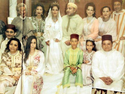 sur les pages de hola le magazine rvle les dtails dun mariage traditionnel et chaleureux entre famille patronn par le roi personnellement - Mariage Lalla Soukaina